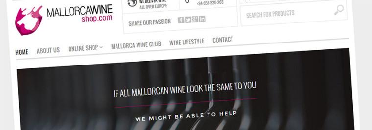 Mallorca Wine Shop | New Website