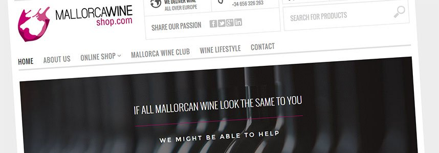 Mallorca Wine Shop | New Website