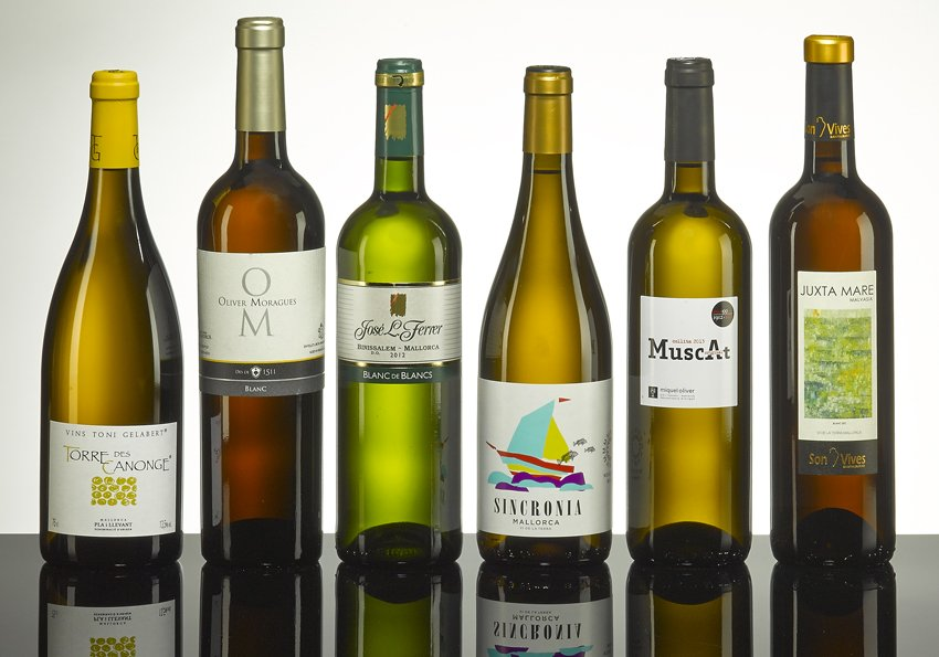 Mallorca Wine Shop - White wine box