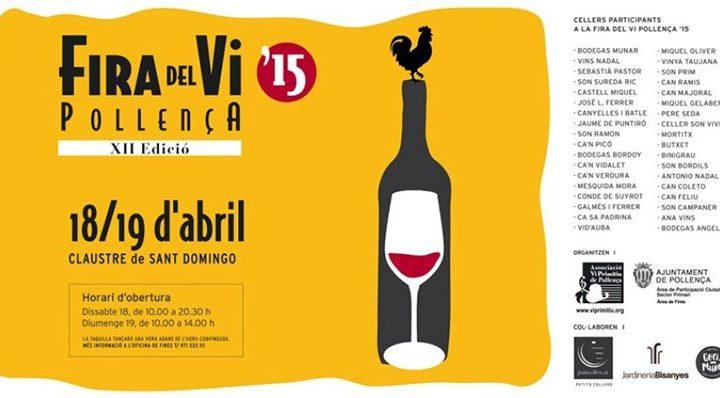 Pollensa's Wine Fair 2015